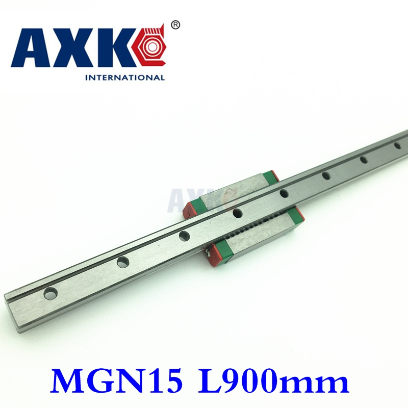 Cnc Router Parts AXK Linear Rail 15mm Linear Guide Mgn15 L=900mm/700mm Rail Way + Mgn15c Or Mgn15h Long Carriage For cX Y Z Axis mgn15 miniature linear rail 3pcs mgn15 900mm rail 3pcs mgn15c mgn15h carriage for x y z axies 3d printer parts