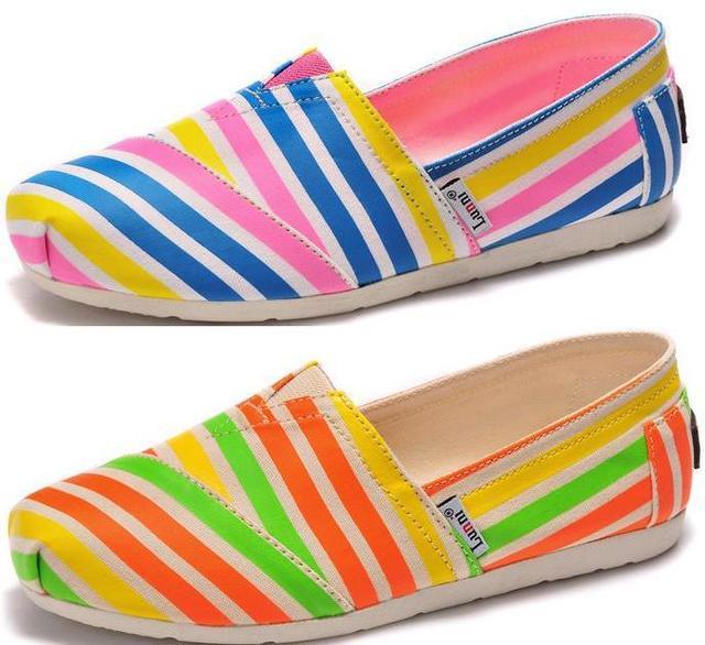 82e7f6cdf4d 2015 new LUNNI women s casual shoes Girl Ladies classic fashion cartoon  canvas shoes