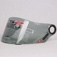 1pcs LS2 Helmet Lens FF358 Helmet Visor Manufacturer Provides Transparent Smoke Black Silver FF385 FF396 Helmet