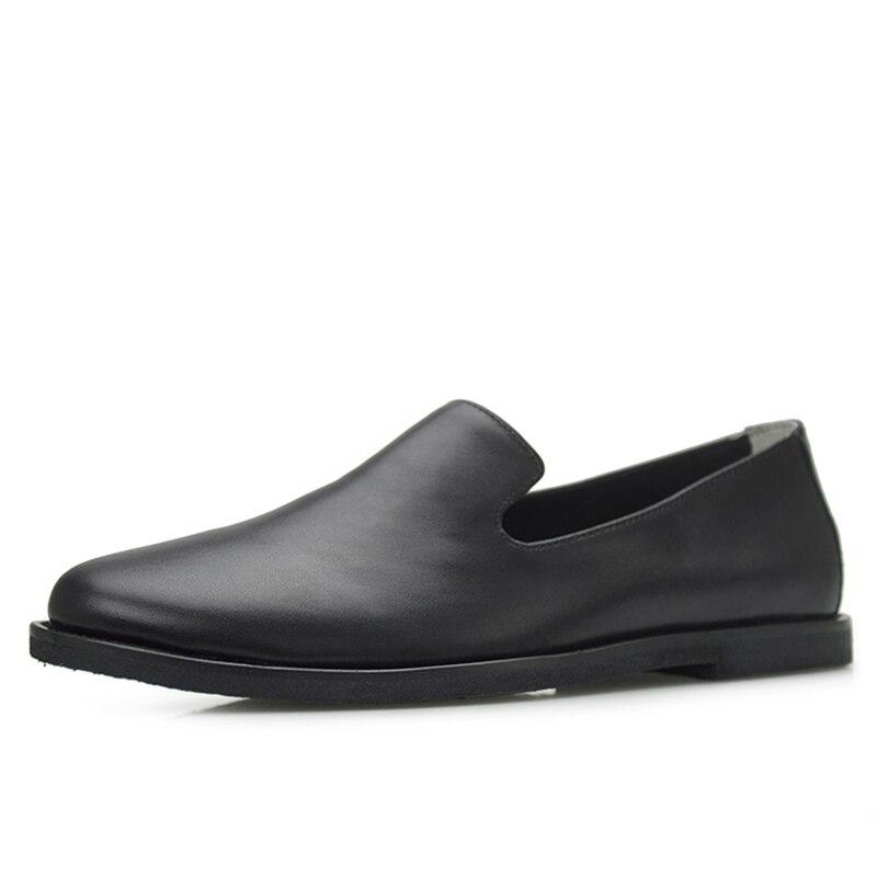 Doux Designer Mâle Mens Conduite Peau De Hommes Tout D'été Mocassins Qualité allumette Vache Printemps Noir blanc Chaussures Haute Automne DH2be9WIEY
