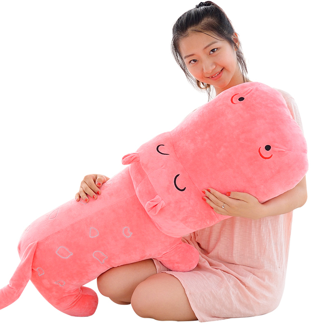 Large Hippo Plush Pillow Doll Kawaii Stuffed Animals Hippos Toy