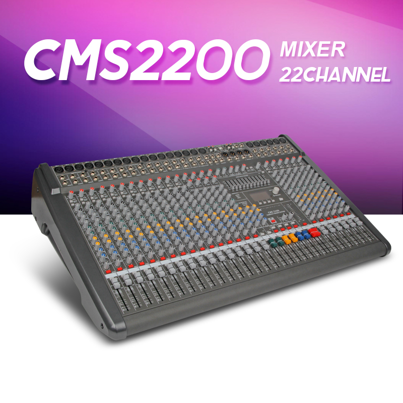Audio mixer CMS2200-3 CMS Compact Mixing System Professional Live Mixer with Concert Sound Performance digital 24/48-bit effects