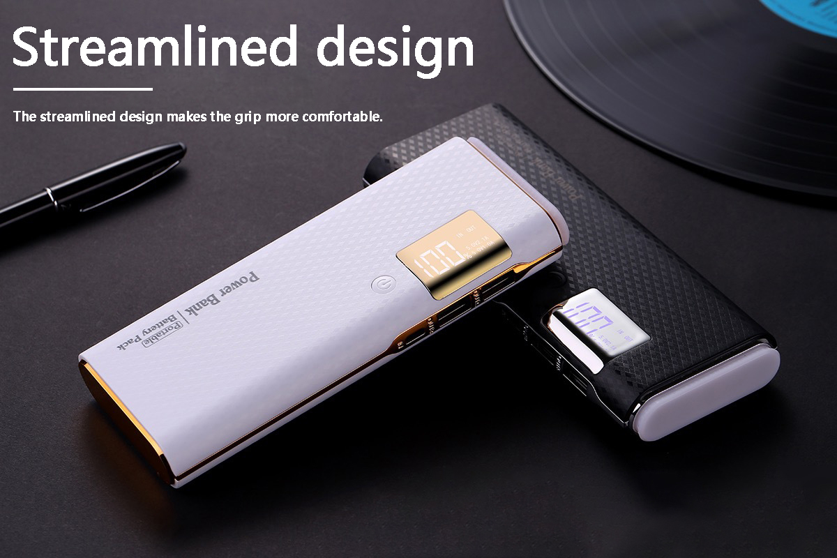 10000mAh For <font><b>Xiaomi</b></font> Mini Portable Charger18650 External <font><b>Battery</b></font> Pack Power Bank Fast Charging For iPhone For Samsung image