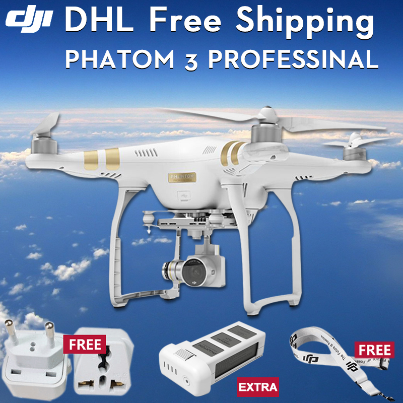 ФОТО (with1 batteries) original dji phantom 3 professional drone with 4k full hd wifi camera drone gopro quadcopter gps system