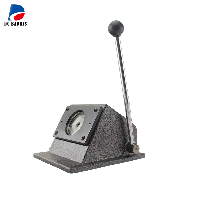 56mm Button paper cutter ,cutting size 66mm,use for 56mm pin badge paper cutting-in Circle Cutters from Home & Garden    1
