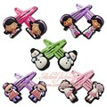 Doc McStuffins Hair Elastic Band Hair Accessories Girls Hairpins hair Clips for kid's Event/Children's Day Supplies gifts
