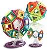 64pcs Lot Magic Magnetic Blocks Set Children Assemble Building Robots Bricks Juguetes DIY Educational Creative Develop