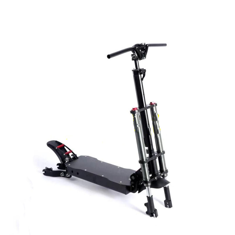 8/10/11 Inch Double Aluminum Alloy Drive Frame Electric Scooter Frame