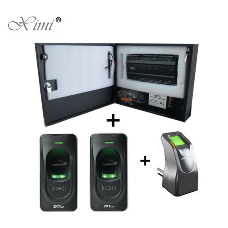 Access Control Kits Security & Protection Motivated Zk Biometric Fingerprint And Card Access Control System Inbio260 2 Doors Access Control Panel Access Control Board With Fr1200