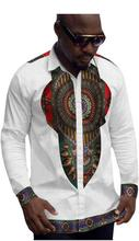 Clothing Special Offer Special Offer Sale Cotton Men Dashiki 2017 Men's Shirts, Exultation Long Sleeves, Large Colors