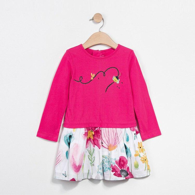 Фото Baby Girls Summer Cotton Vest Dress Kids Sundress Princess Shirt Dresses Hot Styles 2