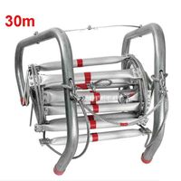 30M High quality Fire Rescue Equipment Fire Rescue Ladder Folding Aluminum Soft Ladder Escape Rope Ladder to Safety Self help