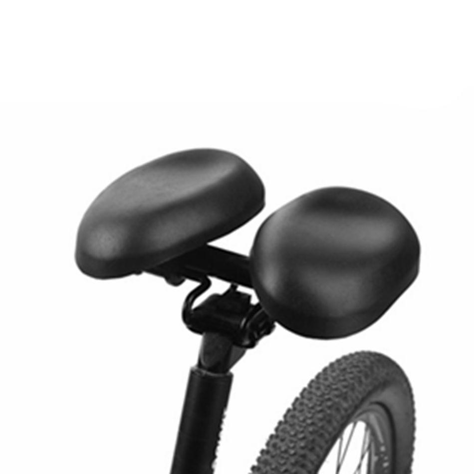 VXM Bicycle Saddle Wide Large Separate Bike Cycling Saddle Black Cycling Large <font><b>Seats</b></font> Cushion For road Comfortable Long Riding