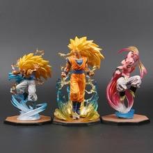 Majin Buu Goku Gotenks Pvc Actiefiguren Tamashii Naties Beeldje Super Saiyan Collection Model Dragon Ball Z Speelgoed Pluche Speelgoed
