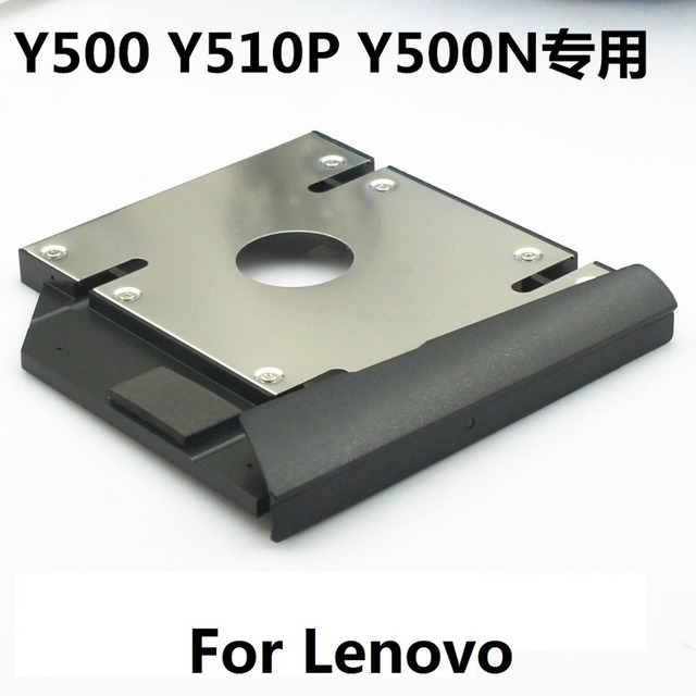 HDD Enclosure Ultrabay Slim SATA 2nd Hdd Hard Drive Caddy Module Lenovo IdeaPad Y500 Y550 Y500N Y510P