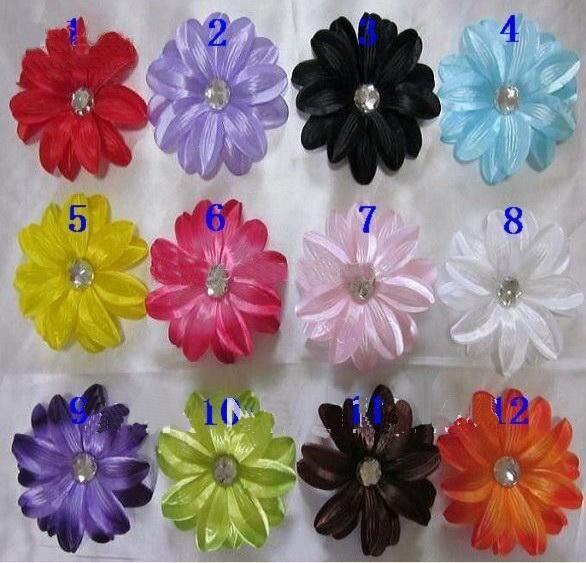 400 шт, волосы с цветами лилии, Детские волосы, украшенные цветами, Детские волосы лилии, заколки для волос для девочек, бант