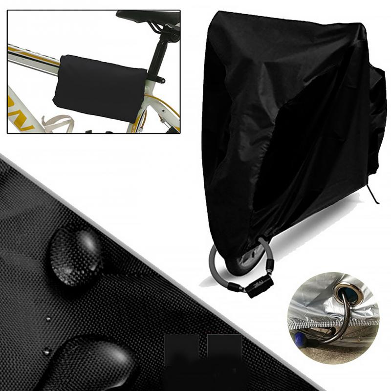 Waterproof Bike Rain Dust Cover Bicycle Cover UV Protective For Bike Bicycle Utility Cycling Outdoor Rain Cover