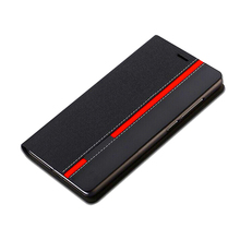 Luxury Business Flip PU Leather Wallet Case For SAM