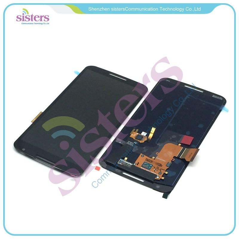 MOTO0109 LCD Display Touch Screen Panel Digitizer Full Assembly Replacement Repair Parts For Motorola Google Nexus 6 XT1100 XT1103 (2)