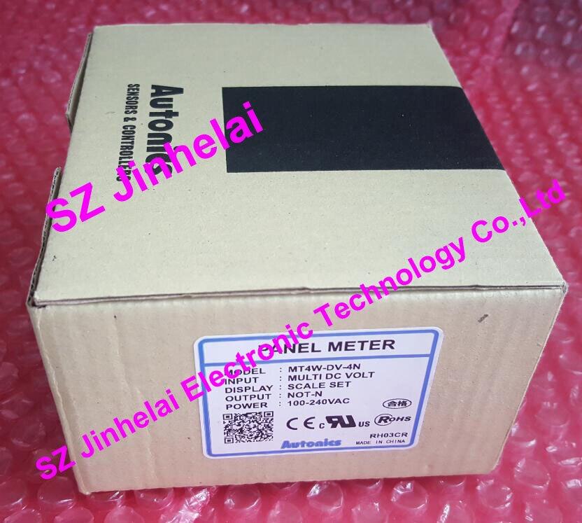 New and original MT4W-DV-4N Autonics PANEL METER 2953s 95 4n