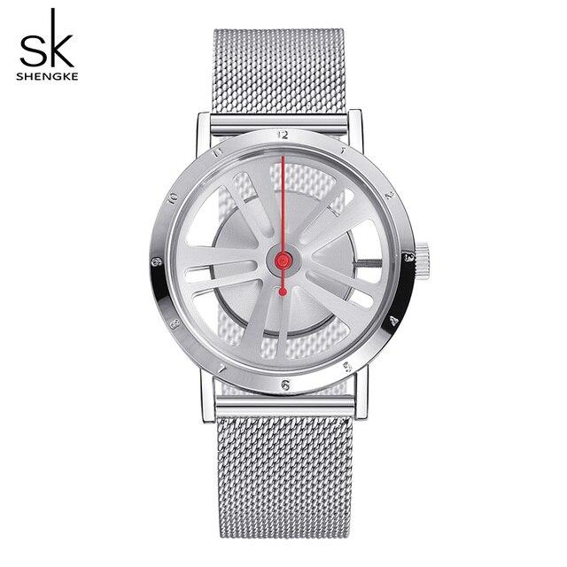 Shengke Creative Ladies Bracelet Watches Reloj Mujer 2019 Top Brand Luxury Stain
