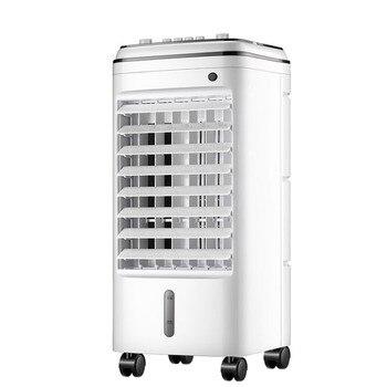 Pequeño Ventilador De Ca | Ventilador De Aire Acondicionado De Doble Tanque Refrigerador Dormitorio Doméstico Móvil De Refrigeración Por Agua Humidificación Pequeño Aire Acondicionado