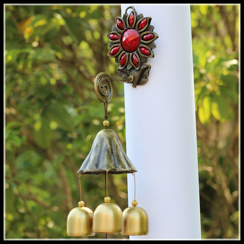 ElimElim Wind Chimes Metal Dream Catcher Wall Hanging Windchimes Outdoor Home Decoration Kids Gifts Aattrape Reve