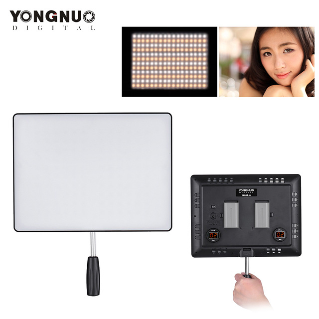 <font><b>YONGNUO</b></font> <font><b>YN600</b></font> Air 3200K-5500K Bi-Color Temperature LED Video Light Photography Lighting Adjustable Brightness Studio Light image