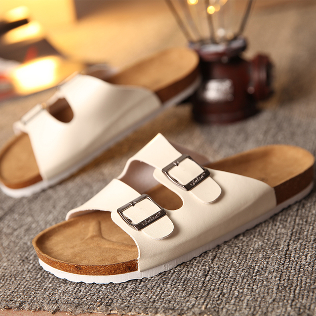 Cork Slippers Shoes Women