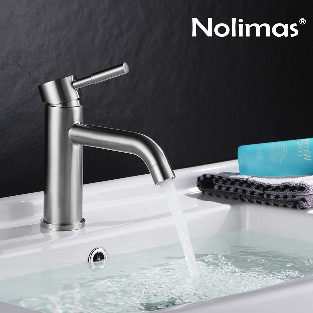 Frap High Quality 304 Stainless Steel Bathroom Sink Faucets Deck ...
