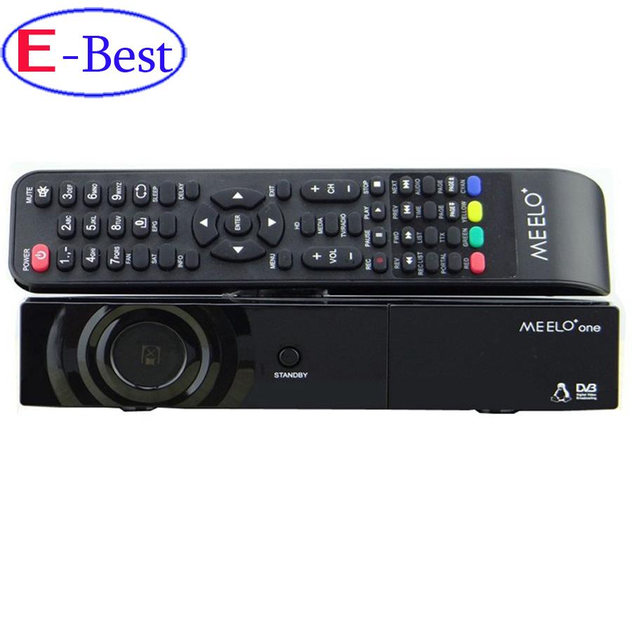 Prix pour [Véritable] MEELO un 750 DMIPS Processeur Linux OS Numérique récepteur Compatible avec mpeg-4 DVB-S2 HDMI + 2USB livraison gratuite