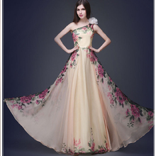 c7dad1b6caa06 Buy floral design gown and get free shipping on AliExpress.com