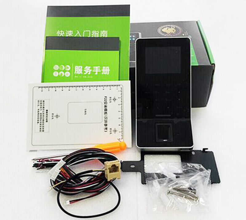 2.4 inch LCD Biometric WIFI Fingerprint Access Control Time Attendance System TCP/IP RJ45 F28 Fingerprint Reader ZK F22