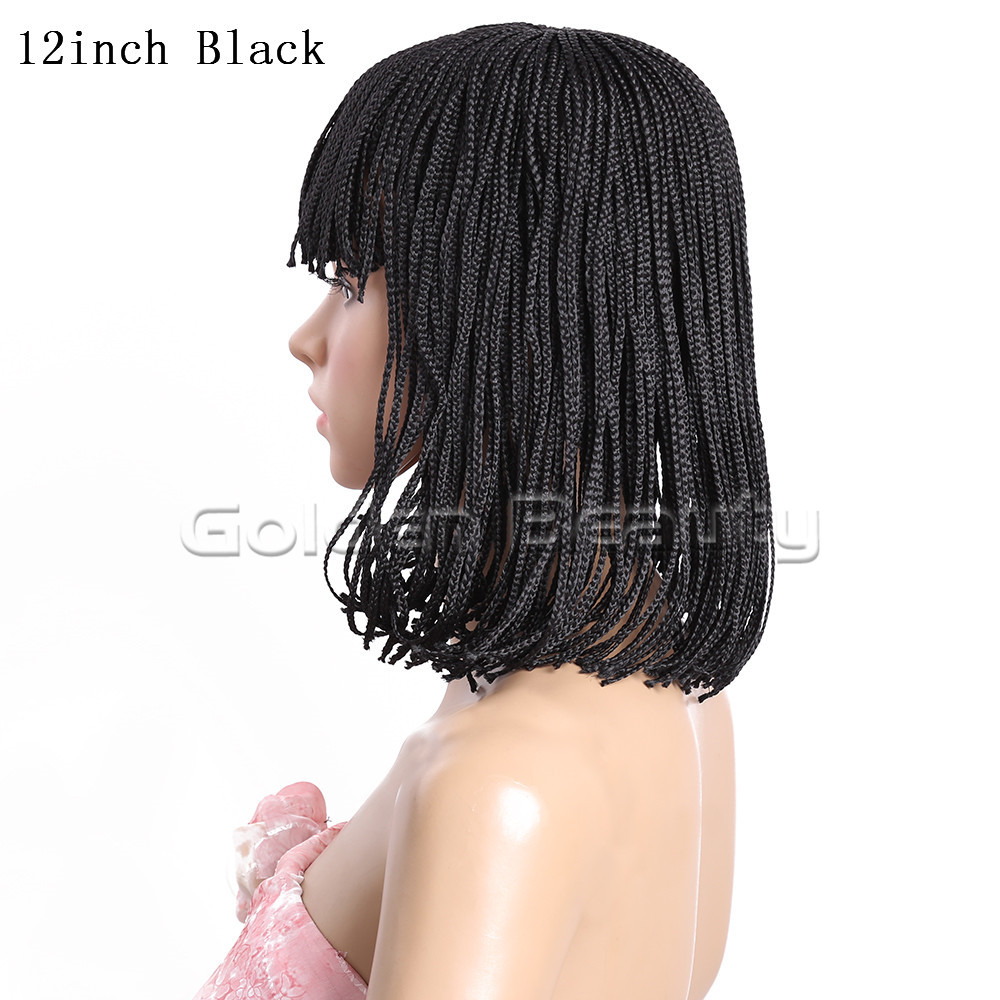 12-Black 210g #1 1B 2 Box braid wig (4)