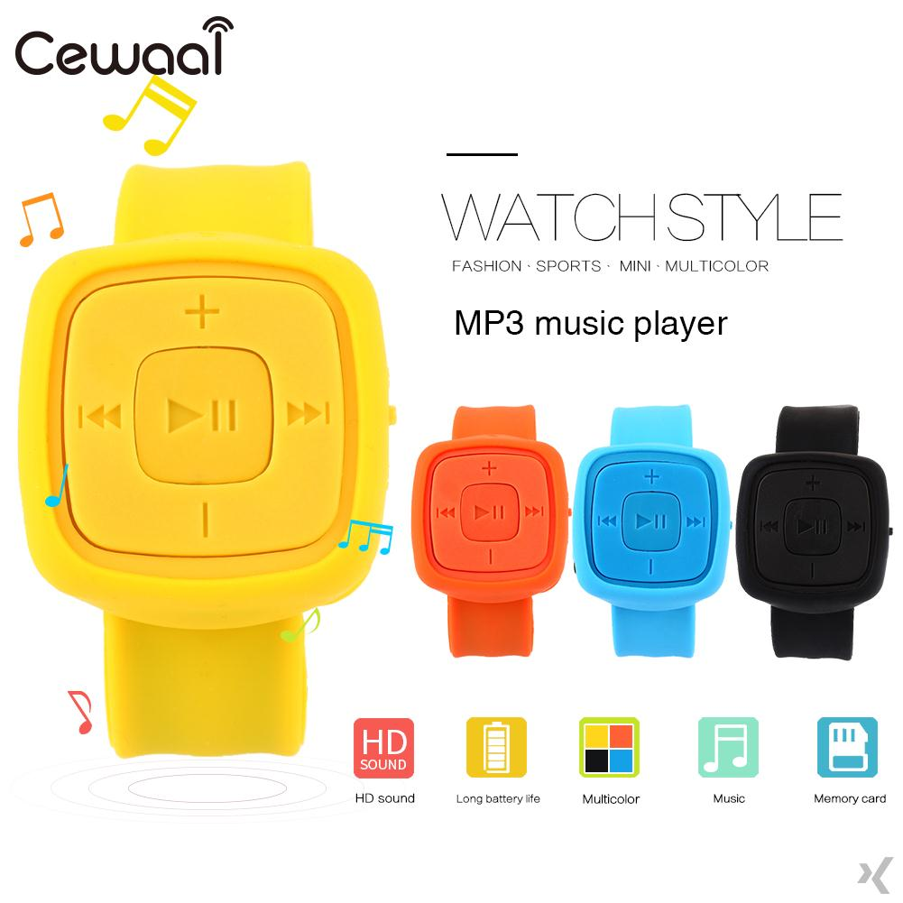No Screen Wrist MP3 Music Player Outdoor Wristband Bracelet Fashion Portable