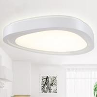 Minimalista e moderno personalidade criativa sala de estar quarto estudo da lâmpada teto circular diferente decorado nordic led