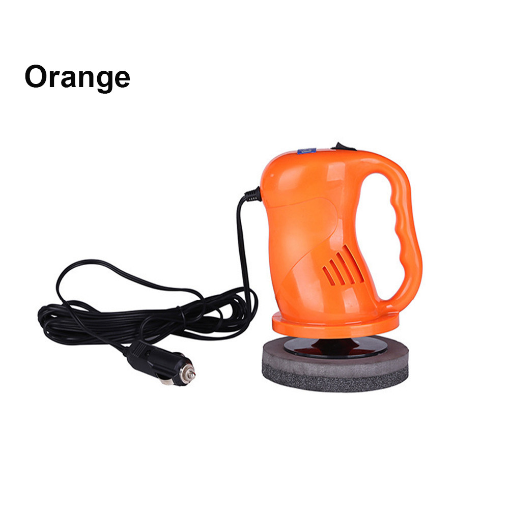 1pc  Waxing machine Car Electrical Handheld Orbital Motion Polisher Paint Buffer Wax Machine  12.5x12.5x17.5cm