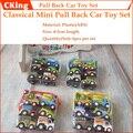 (6 Шт./компл.) MI-NI-01 Multi-Color Safety ABS Отступить Автомобиль Игрушка Мини-Автомобиль Модели Лучшая Цена Оптовая быстрый/Бесплатная Доставка