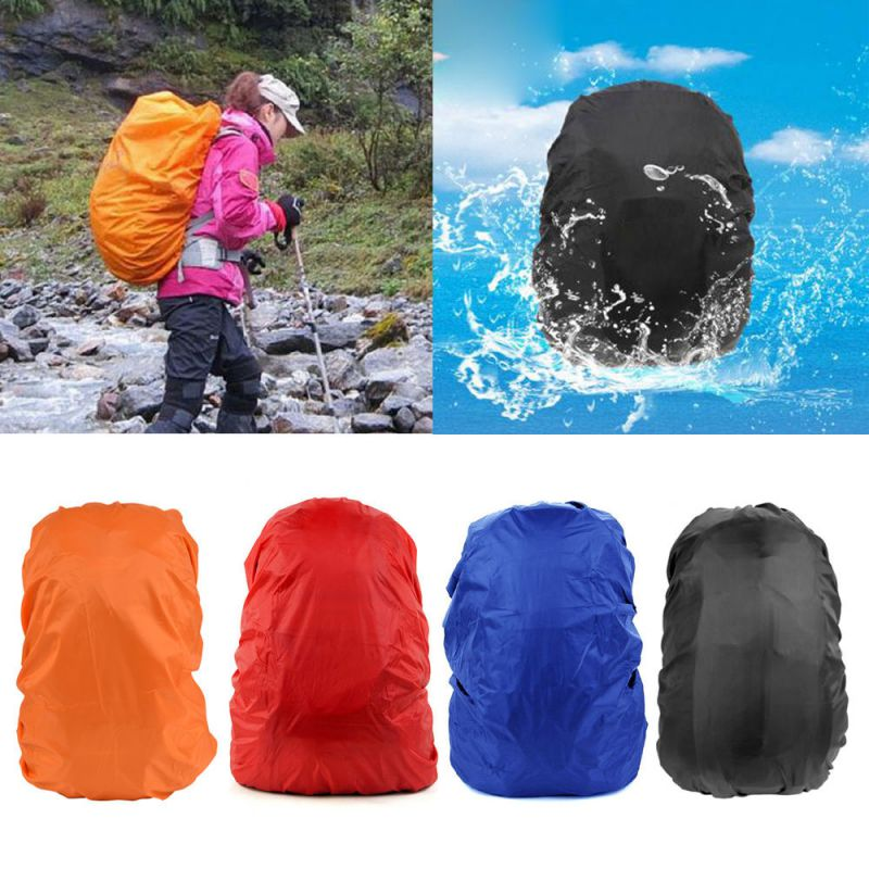 35L Portable Waterproof Dust Rain Cover For Travel Camping Backpack Rucksack Bag New