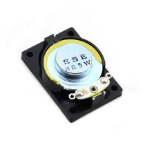 High quality 5W 28mm x 40mm 8ohm Small Notebook Speaker Black diy horn