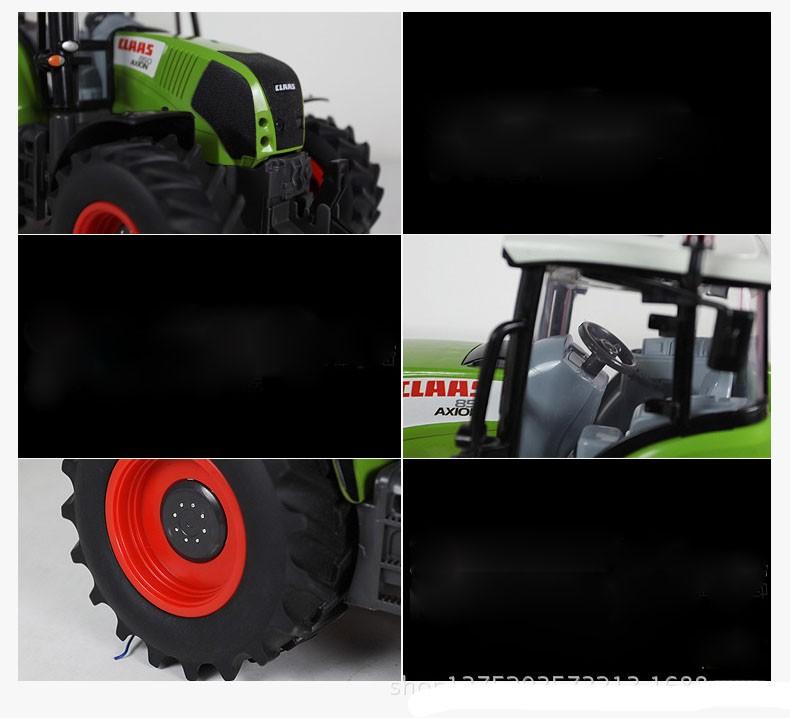 Hot Sale Voiture Telecommande Carrinho De Controle Remoto 1:16 Oversized Radio Remote Control Car Farmer Tractor Kids Toy 7