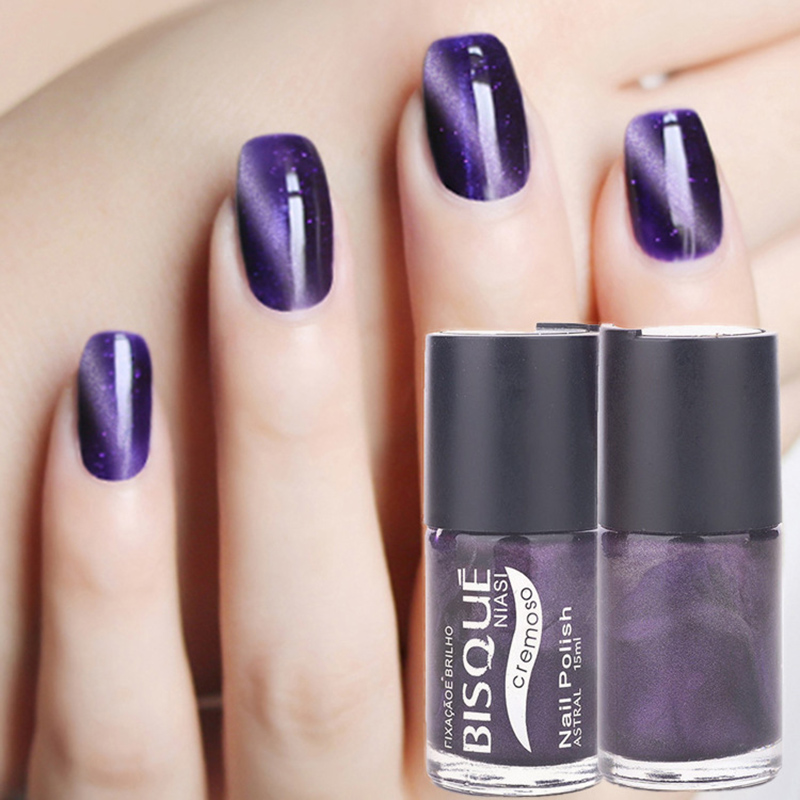Magic Boutique Nail Polish Environmental Magnetic Cat Eye Changing Colors Longlasting Gel Art Salon Tool Jyj093 In From Beauty