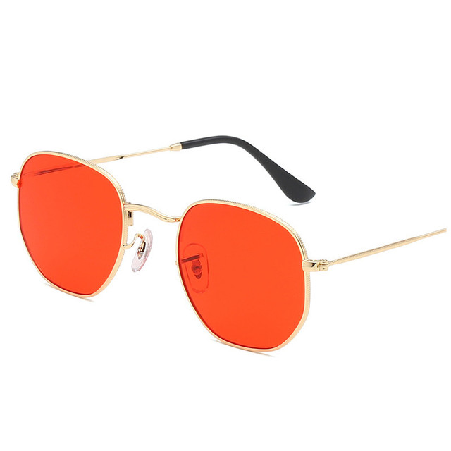 Metal Classic Vintage Sunglasses Luxury Brand Design Female Eyewear 3