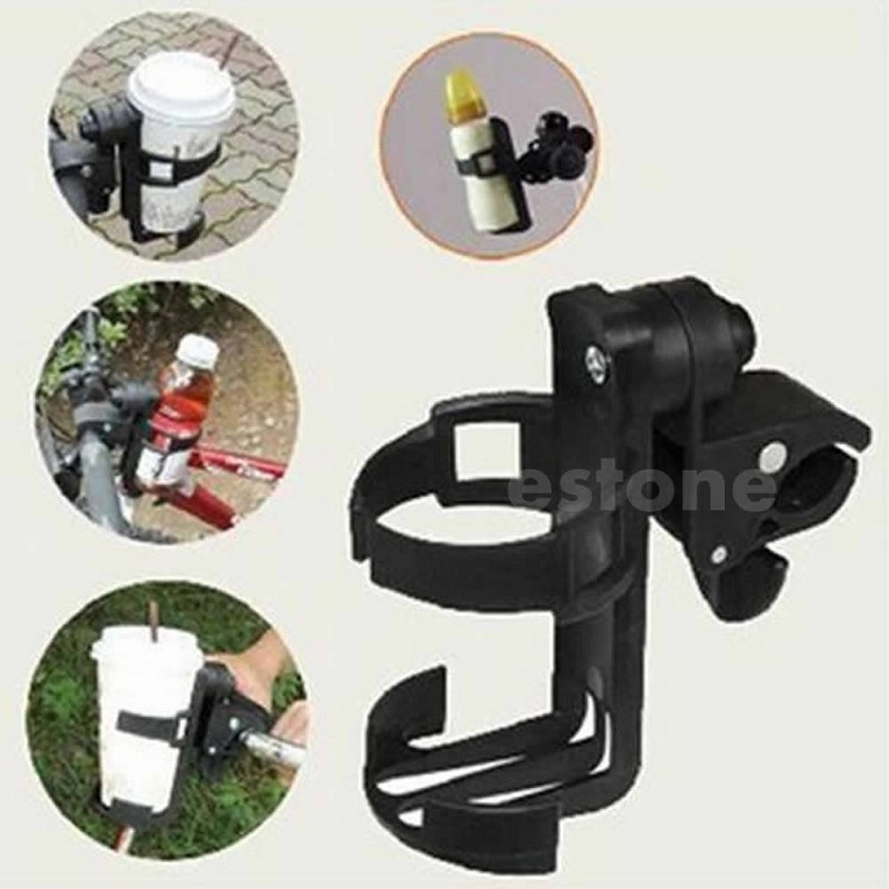 QILEJVS 1pc Baby Stroller Parent Console Organizer Cup Holder Buggy Jogger Universal
