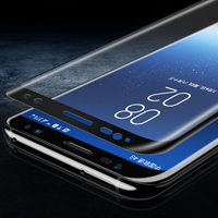 Full Glue 3D Curved HD Clear Tempered Glass Screen Protector For Samsung Galaxy S8 S8 Plus