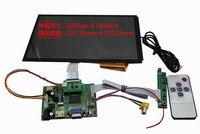 10 1 Inch DIY Capacitive Touch Screen Kit For Car Screen 1366 768 DIY Liquid Crystal