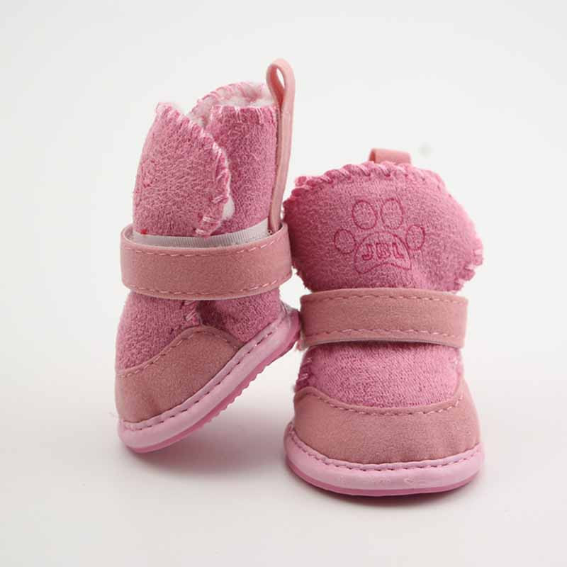 SYDZSW Pet Shoes for Dogs Cats Winter Small Dog Puppy Anti-slip Boots Yorkshire Snow Boots Chihuahua Supplies Out Door Pet Porducts4