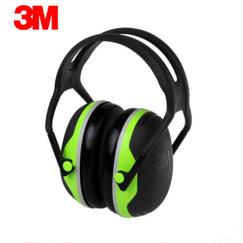 3M X4A Original New style Earmuffs Hearing Conservation Anti-noise Hearing Protector for Drivers/Workers/Shooters A0724 3m h6p3e cap mount earmuffs hearing conservation h6p3e ultra light with liquid foam filled earmuff cushions e111