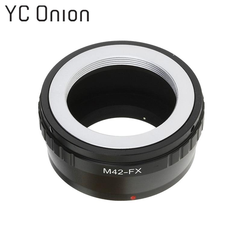 M42-FX Lens Adapter Anneau Vis-Dans la Montagne pour Takumar M42 Monture à Fujifilm X-Caméras à monture Fuji x-Pro1 X-Pro2