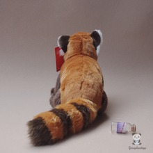 Kids Toys  Plush Panda Doll  Cute  Red Panda Real Life  Animal  Raccoon Dolls Holiday Gifts